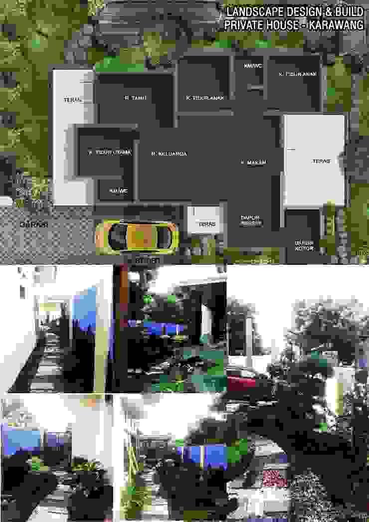 Private House Design Balkon, Beranda & Teras Tropis Oleh Reza Fauzi Tropis