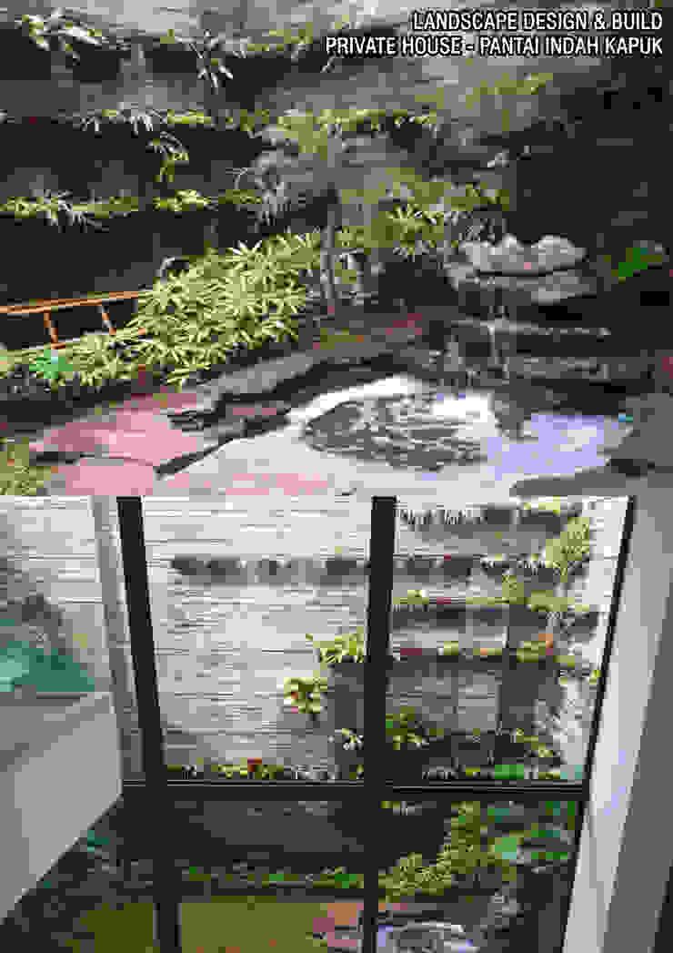 Garden Renovation Balkon, Beranda & Teras Tropis Oleh Reza Fauzi Tropis