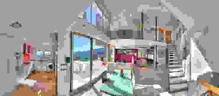 Interior. Salón - comedor. Salones de estilo moderno de Barreres del Mundo Architects. Arquitectos e interioristas en Valencia. Moderno