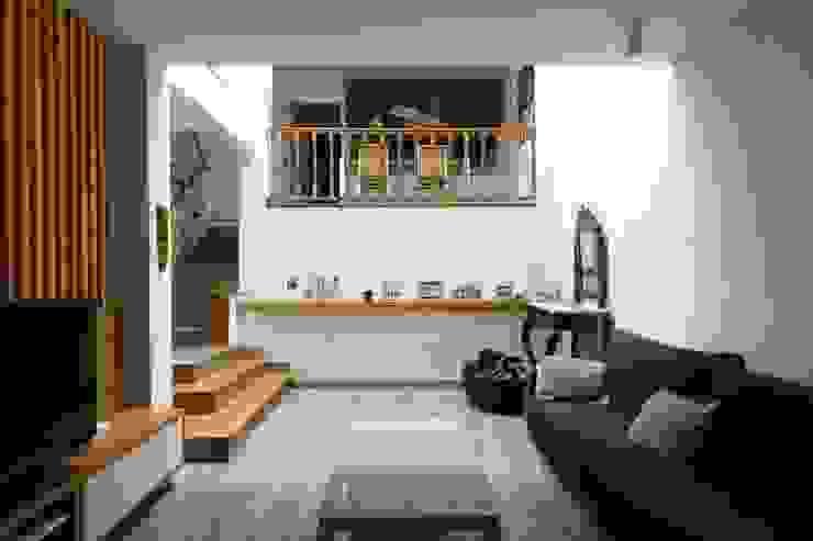 Salón CREAPROJECTS. Interior design. Salones de estilo ecléctico