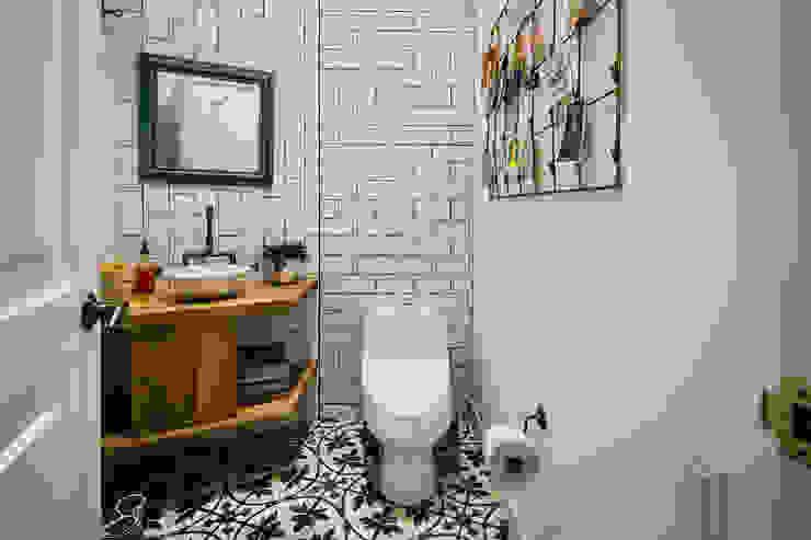Baño Social Modismo Baños de estilo moderno