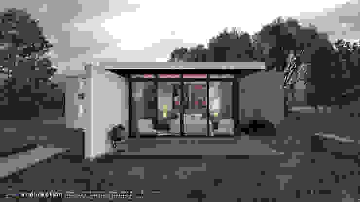 Proyecto Casa Mia Casas modernas de Renderaction Moderno