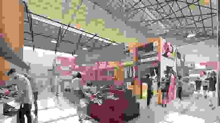 Interiorismo Diseño de Locales comerciales. de Oleb Arquitectura & Interiorismo Tropical