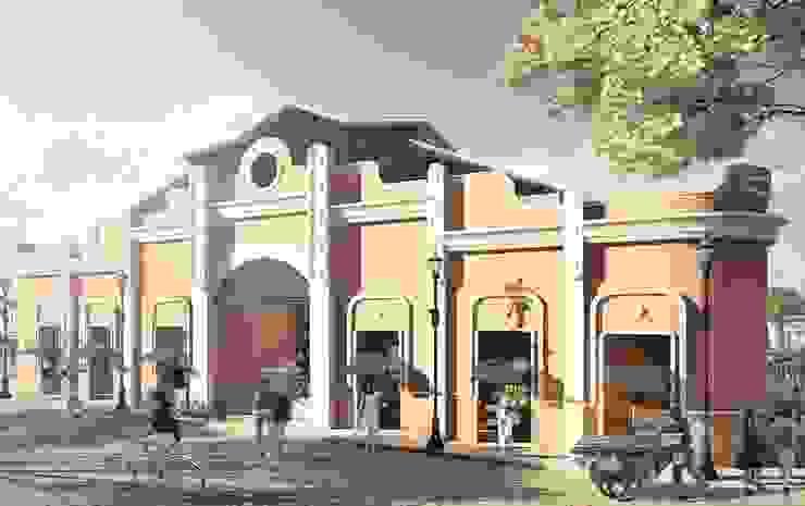 Fachada Principal Mercado de Granos de Oleb Arquitectura & Interiorismo Tropical