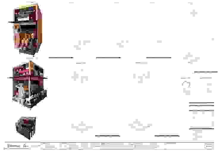 Detalles de mobiliario espacios comerciales Mercado de Granos de Oleb Arquitectura & Interiorismo Tropical