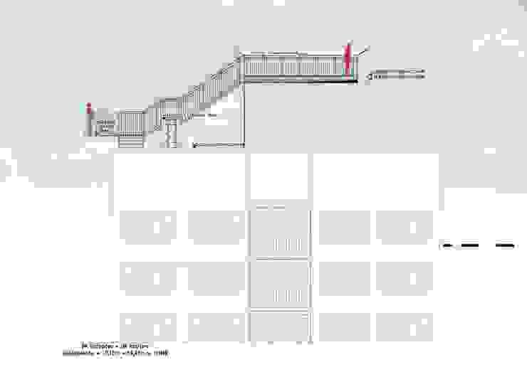 Süd-Ansicht Müllers Büro Industriale Veranstaltungsorte Eisen/Stahl