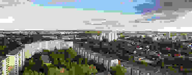 Blick über Marzahn Müllers Büro Industriale Veranstaltungsorte Eisen/Stahl