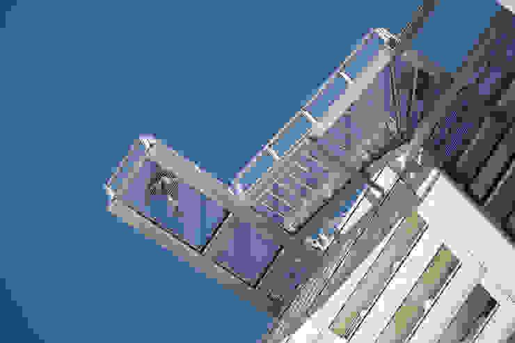 Skywalk von unten Müllers Büro Industriale Veranstaltungsorte Eisen/Stahl