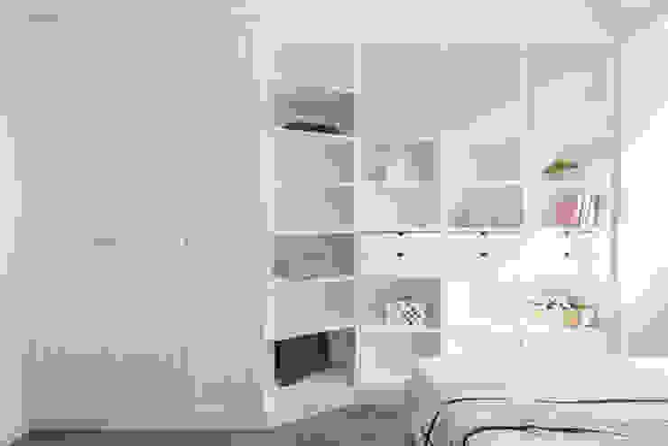 旅與憩 Scandinavian style bedroom by 知域設計 Scandinavian