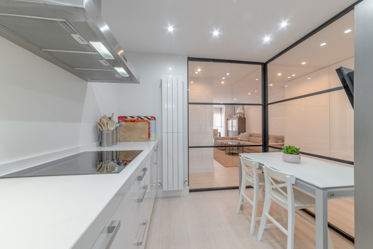 Loema Reformas Integrales Madrid Kitchen White