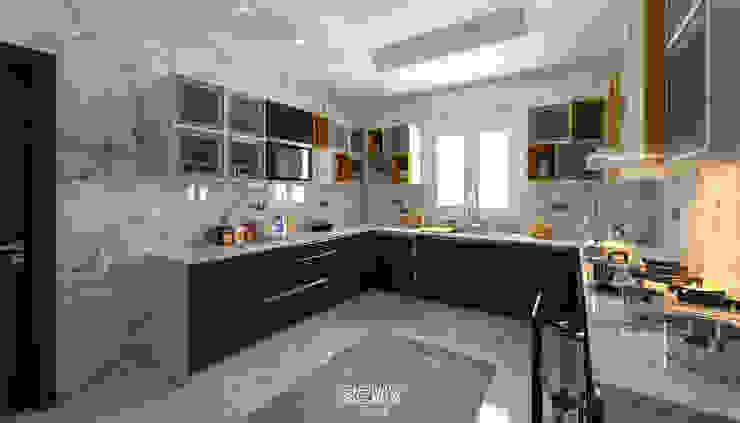 شقة سكنية خاصة - القاهرة الجديدة من SIGMA Designs حداثي خشب Wood effect
