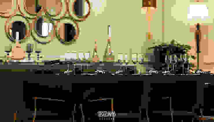 شقة سكنية خاصة – القاهرة الجديدة من SIGMA Designs حداثي