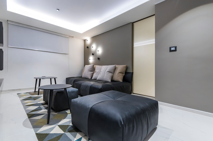 Design Group Latinamerica Modern style media rooms