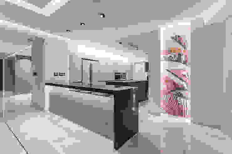 APTO CDP A21 Cocinas de estilo moderno de Design Group Latinamerica Moderno