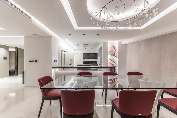Design Group Latinamerica Modern dining room