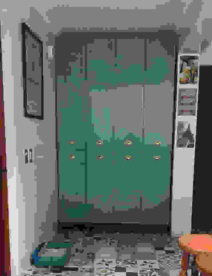 Entorno Estudios ห้องครัวที่เก็บของ แผ่นไม้อัด Turquoise
