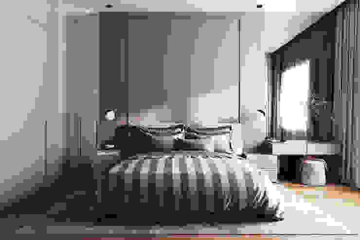 Примеры ремонтов от студии Icon Спальня в стиле минимализм от Ремонт и дизайн квартир с ICON Минимализм