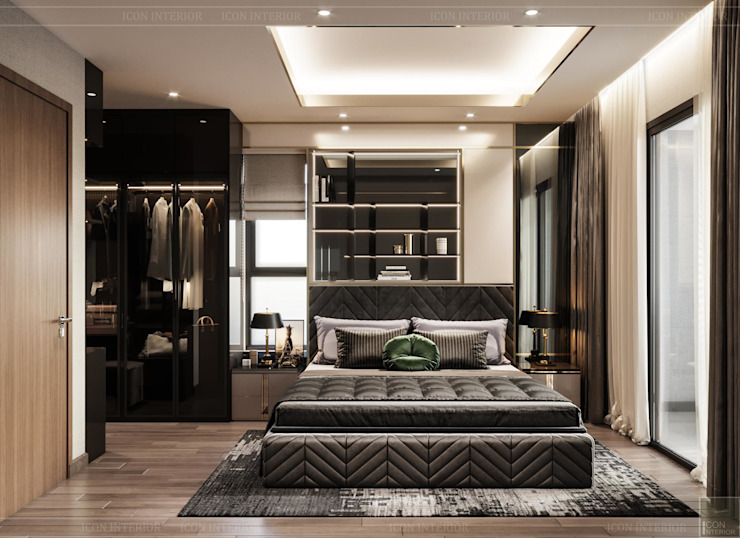 ICON INTERIOR Modern style bedroom