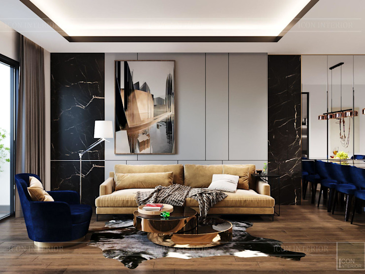 ICON INTERIOR Modern living room