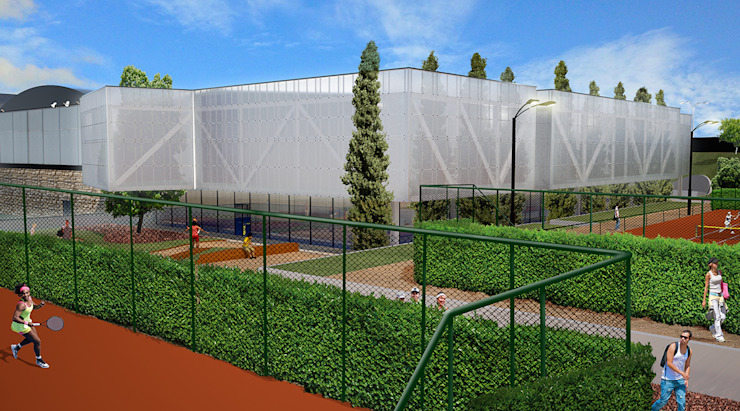Verde:  tropical por Jah Building Solutions,Tropical
