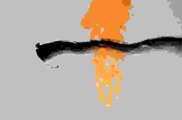 Ten - Kalligraphie auf Leinwand Christine Lehmann Malerei-Wandbilder-Asiatische Kalligraphie Kunst Bilder & Gemälde
