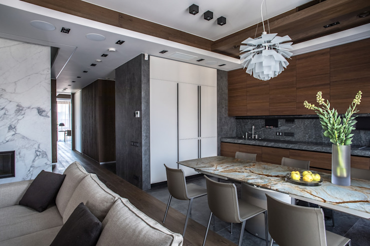 Кухня, Столовая от Архитектор Татьяна Стащук