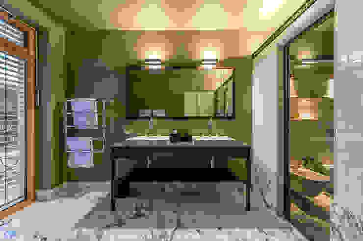 Marble Bathroom Vivante Moderne Badezimmer Marmor Grün