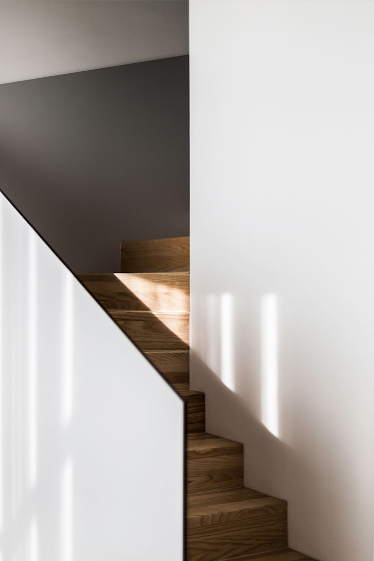 Lugerin Architects Stairs MDF White
