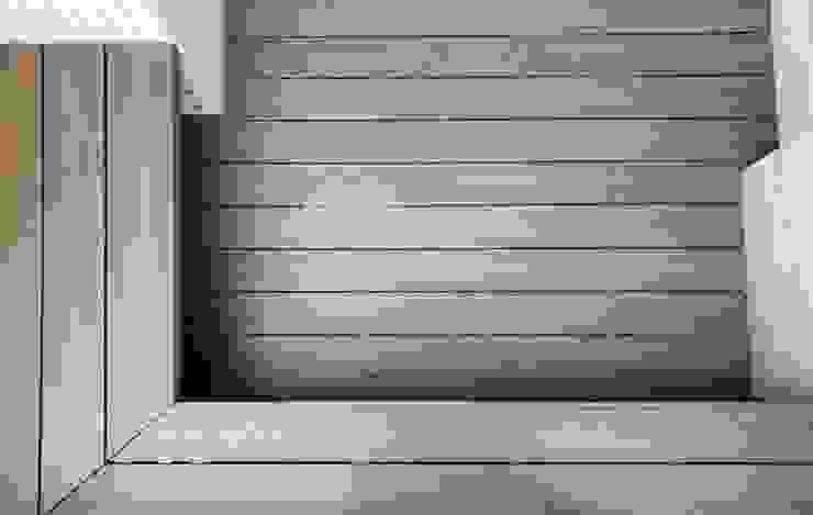 塑木景觀家具、公園座椅、休憩區 根據 新綠境實業有限公司 日式風、東方風 塑木複合材料