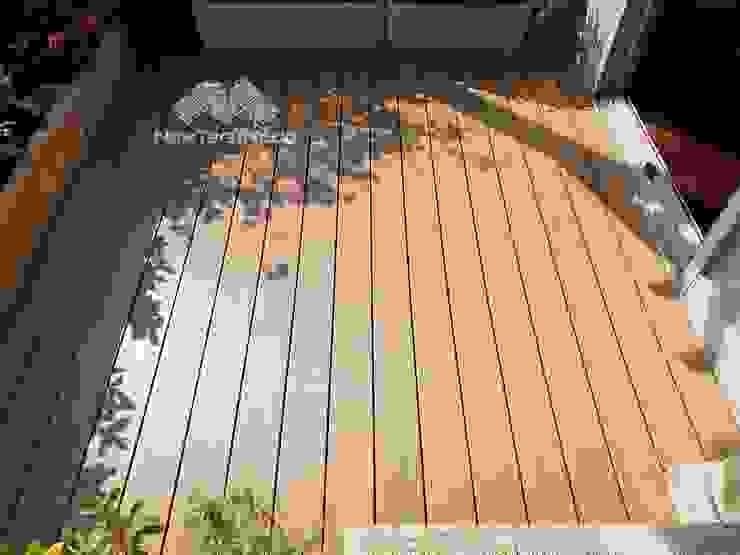 塑木平台更新 根據 新綠境實業有限公司 日式風、東方風 塑木複合材料