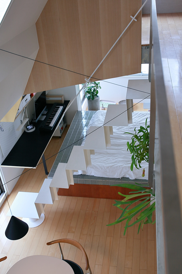 studio m+ by masato fujii Moderne Esszimmer