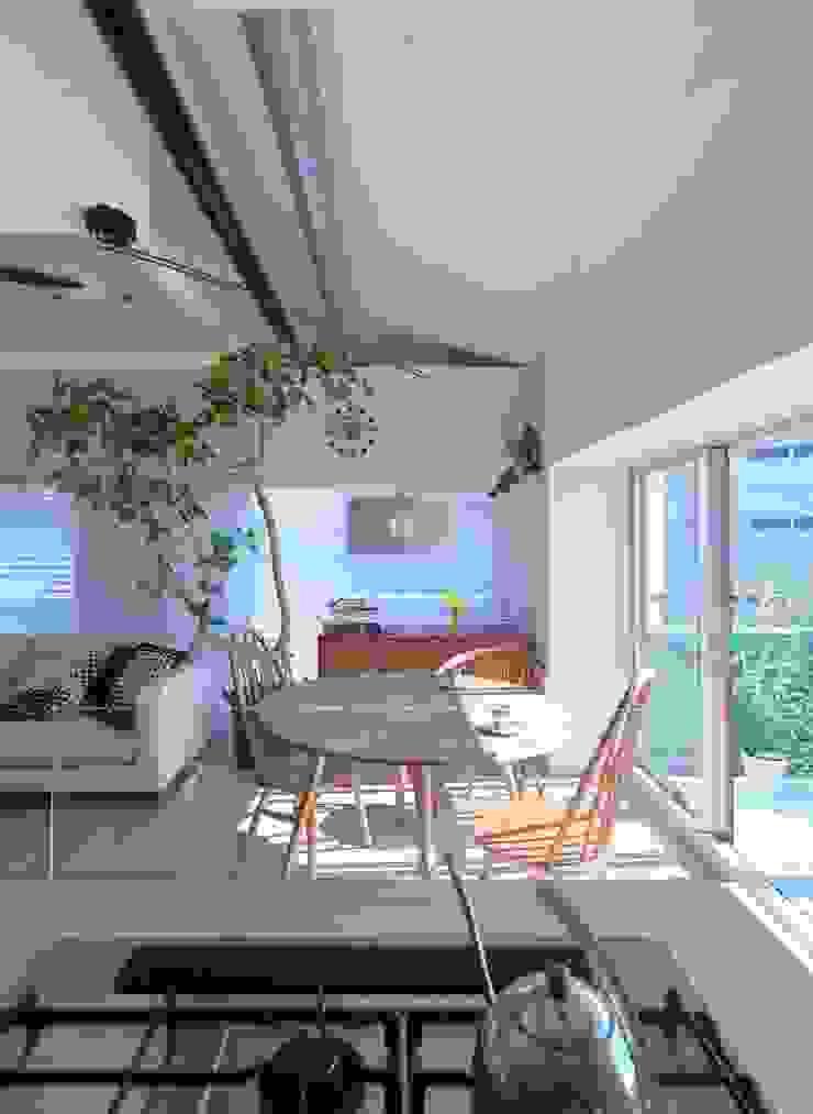 studio m+ by masato fujii Scandinavian style dining room
