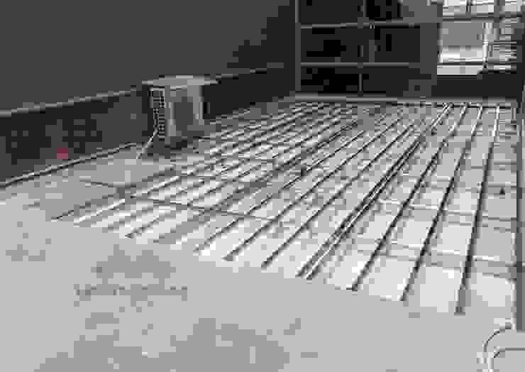 不鏽鋼骨架 根據 新綠境實業有限公司 日式風、東方風 塑木複合材料