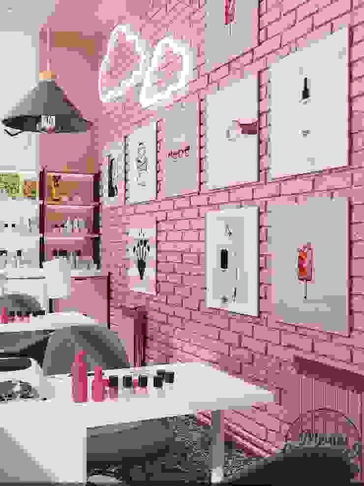 Salas de entretenimiento de estilo minimalista de Компания архитекторов Латышевых 'Мечты сбываются' Minimalista