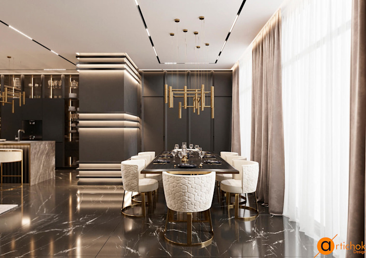 Artichok Design Modern dining room