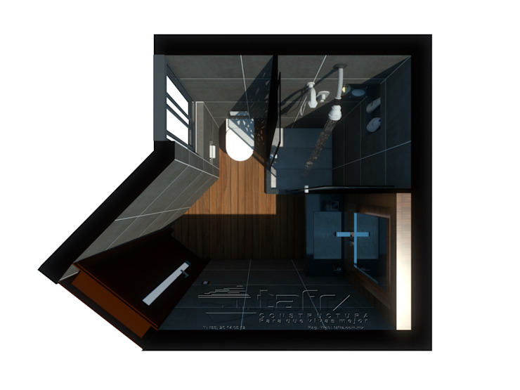 Modern Bathroom by CONSTRUCTORA TAFRA, S. A. DE C. V. Modern