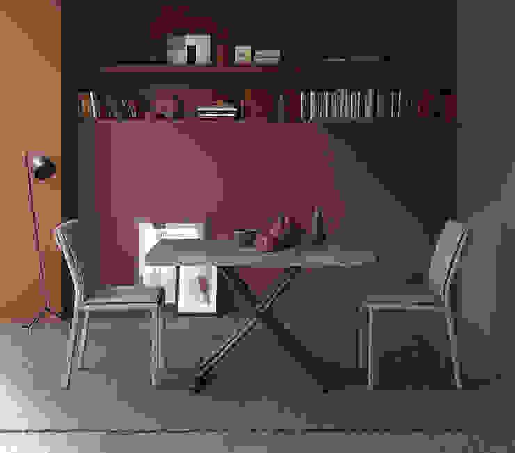 Ruang Makan Modern Oleh Mobili a Colori Modern Kayu Buatan Transparent