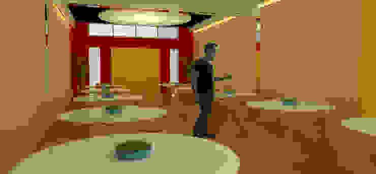 Cochera reformada en Salon de Fiestas de ARQUITECTURA FENG SHUI