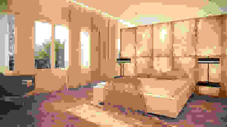 Proyecto reforma y decoración piso en Castellana Alicia Peláez Sevilla - Interiorismo y Decoración Dormitorios de estilo moderno