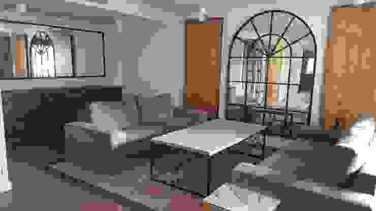 Vivienda unifamiliar en Arturo Soria Salones de estilo colonial de Alicia Peláez Sevilla - Interiorismo y Decoración Colonial