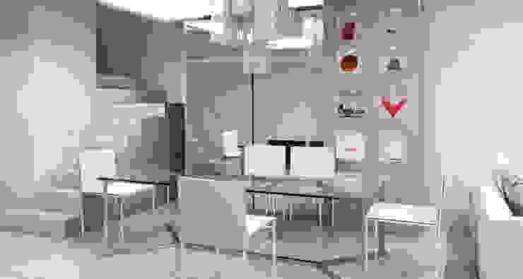 Apartamento Barrio Salamanca Madrid Comedores de estilo moderno de Alicia Peláez Sevilla - Interiorismo y Decoración Moderno