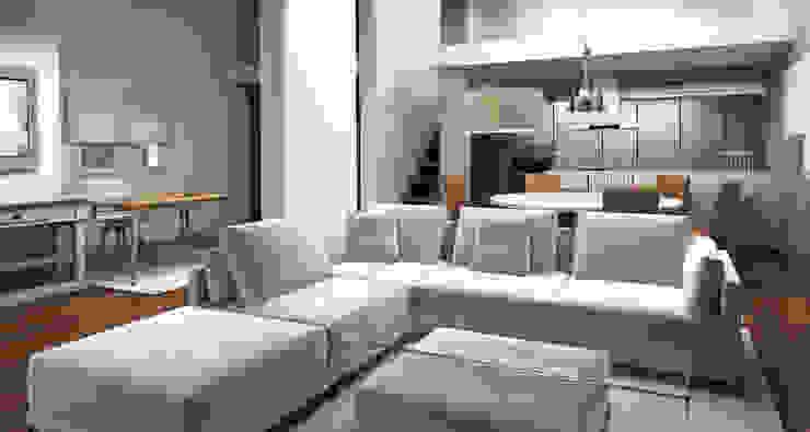 Chalet Unifamiliar Pozuelo Salones de estilo moderno de Alicia Peláez Sevilla - Interiorismo y Decoración Moderno