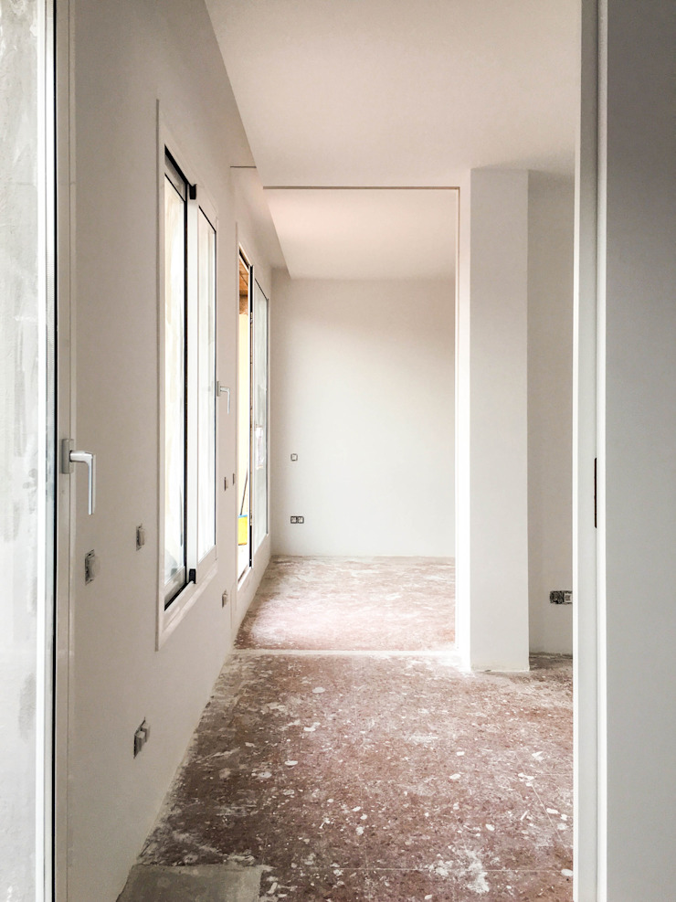 Modern Corridor, Hallway and Staircase by HOA Architecture and Design Modern