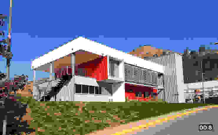 Oficinas Corporativas Quimica Harting de DDIS Arquitectos Moderno Aluminio/Cinc