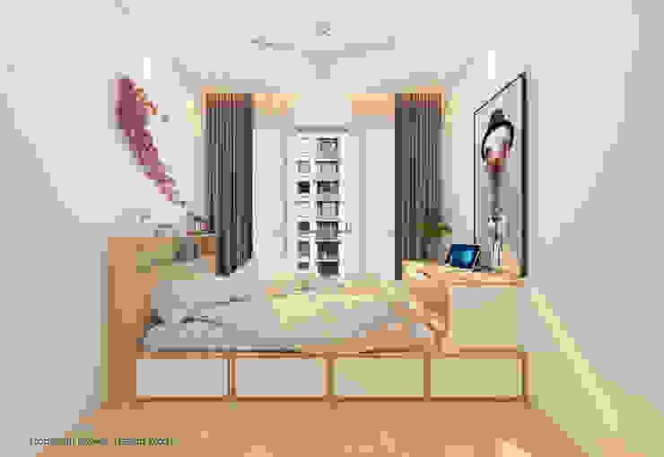 Bedroom by Swish Design Works Minimalist Plywood