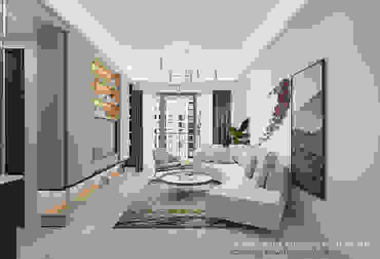 Living Room Minimalist living room by Swish Design Works Minimalist Plywood