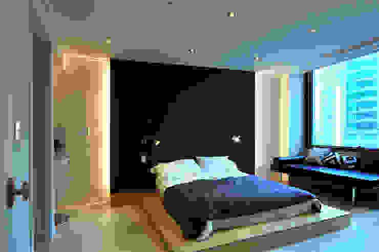 Modern Media Room by 레이어비(Layer_B) Modern Wood Wood effect