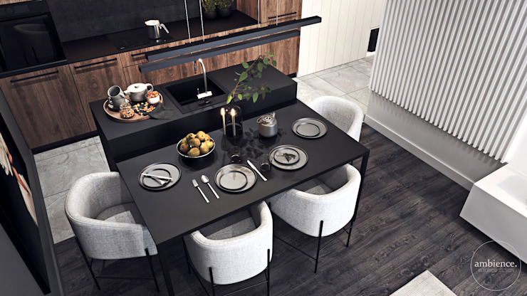 Modern Dining Room by Ambience. Interior Design Modern