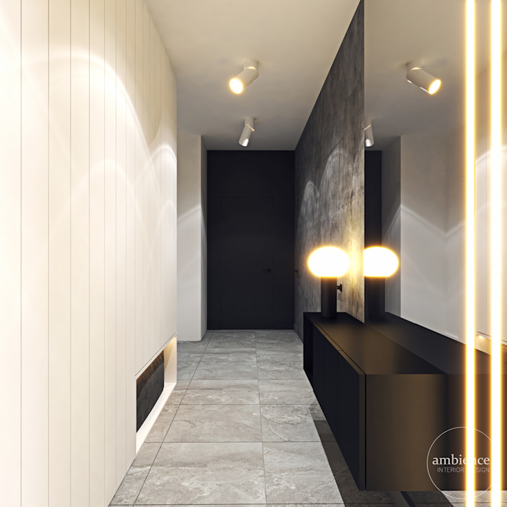 Modern Corridor, Hallway and Staircase by Ambience. Interior Design Modern