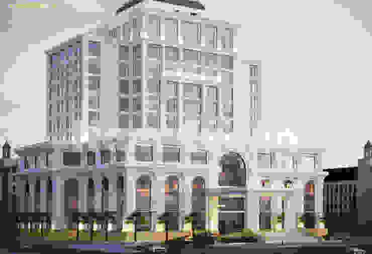 Kiến trúc khách sạn đẹp bởi Thiết kế khách sạn Hiện đại